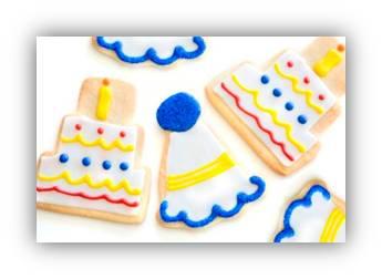birthday sugar cookies