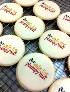 cookies for walk for plumpy'nut