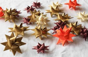 moravian stars or froebel stars