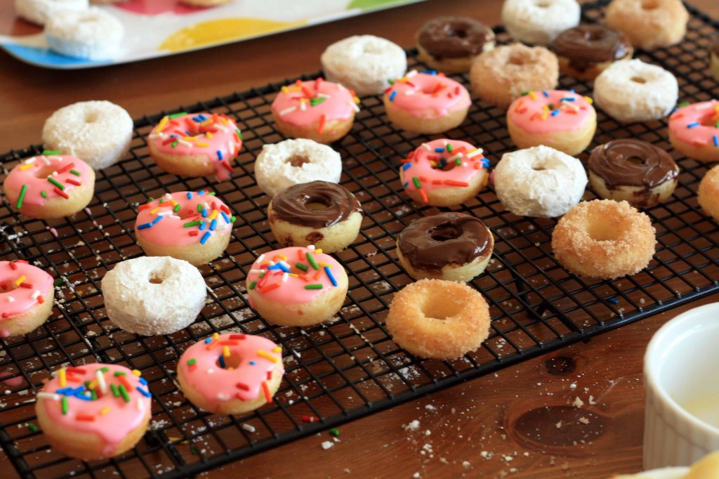 Experimenting With Mini Donuts Emilydubner